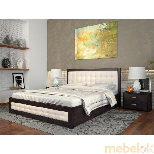 Кровать Рената Д сосна 180х200
