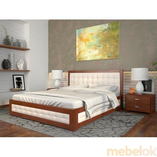 Кровать Рената М сосна 160х200