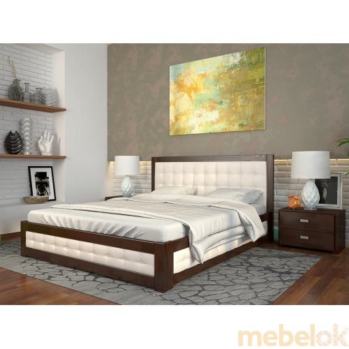 Кровать Рената М сосна 180х200