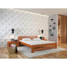 Двуспальная кровать Симфония сосна 160х190