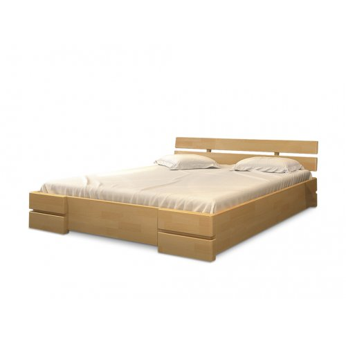 Двуспальная кровать Дали дуб 180х190