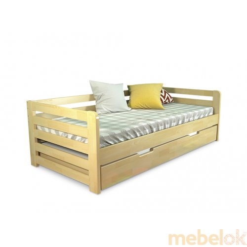 Кровать Немо сосна 80х190