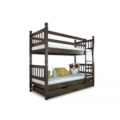 Двухъярусная кровать Нота сосна 90х200