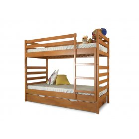 Двухъярусная кровать Рио дуб 80х190