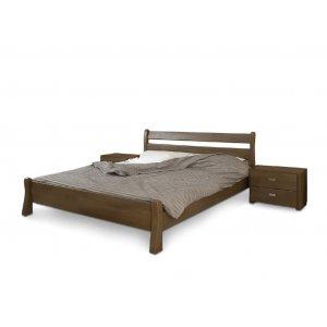 Полуторная кровать Венеция дуб 140х200