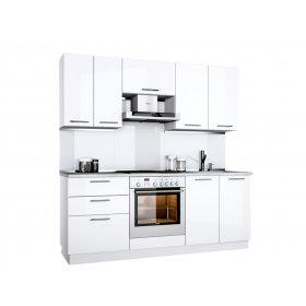 Кухня Бьянка 2,0 м глянец белый