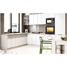 Угловая кухня Орландо глянец белый