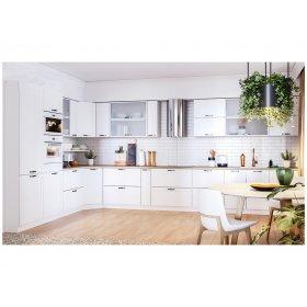 Кухня Винтаж белый матовый (2,7х4,7 м)