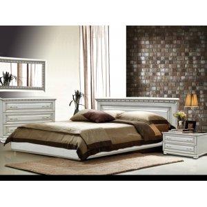 Спальный гарнитур Лилия белая