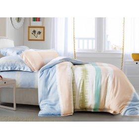 Двуспальное бамбуковое постельное белье Arya Chloe 200х220