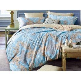 Двуспальное печатное постельное белье Arya Mirella 200х220