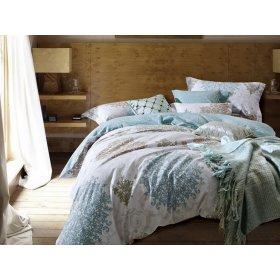 Двуспальное печатное постельное белье Arya Adolina 200х220