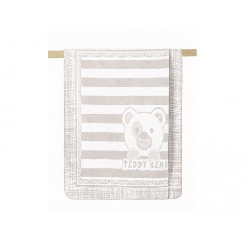Плед Arya Хлопок Детский 100х120 Teddy Bear