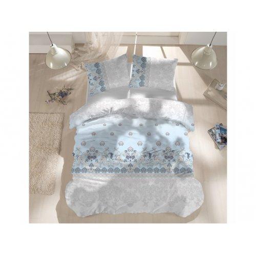 Полуторный комплект постельного белья Arya Ранфорс 160х220 Mikla
