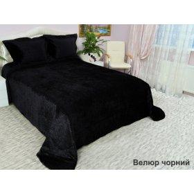 Комплект для спальні Arya 265х265 Велюр чорний