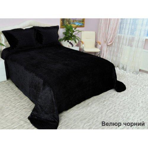 Комплект для спальни Arya 265х265 Велюр черный