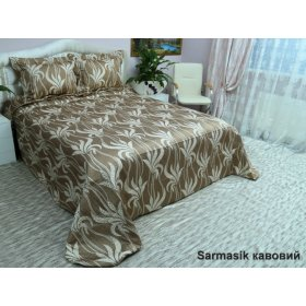Комплект для спальни Arya 265х265 Sarmasik коричневый