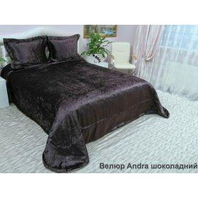 Комплект для спальні Arya 265х265 Велюр Andra коричневий