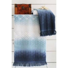 Голубое полотенце Loft 50х90