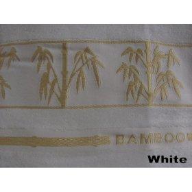 Полотенце Arya Бамбук Bonita белое 90х150