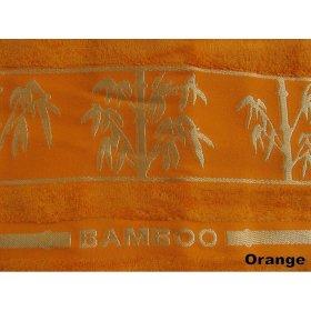 Полотенце Arya Бамбук Bonita оранжевое 90х150