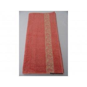 Полотенце Бамбук Arya Aleda 50х90 персиковое