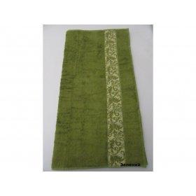 Полотенце Бамбук Arya Aleda 50х90 зеленое