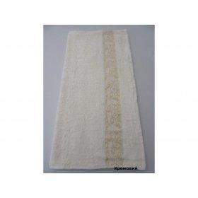 Полотенце Бамбук Arya Aleda 70х140 кремовое