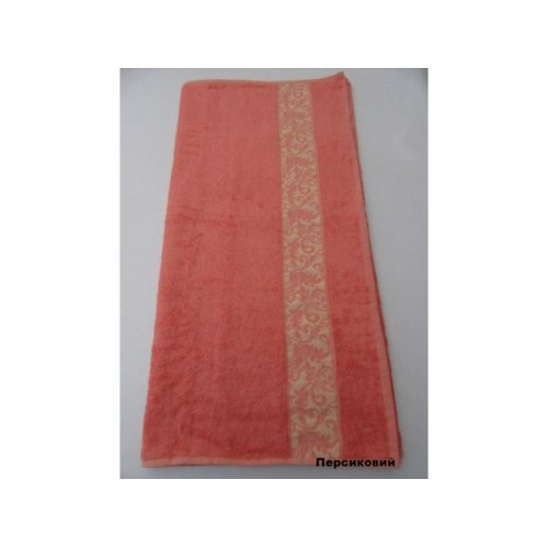 Полотенце Бамбук Arya Aleda 70х140 персиковое