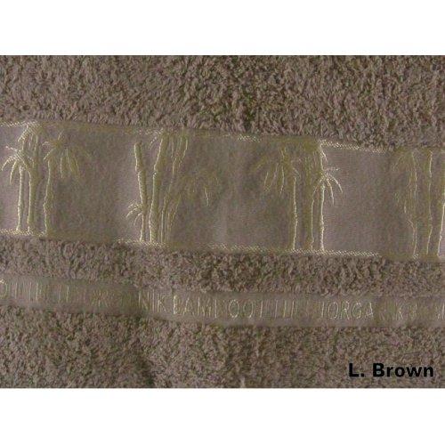 Полотенце Бамбук Arya Sharlock 50х90 светло-коричневое