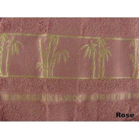 Полотенце Бамбук Arya Sharlock 50х90 сухая роза