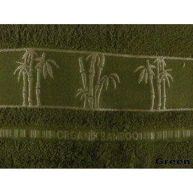 Полотенце Бамбук Arya Sharlock 50х90 зеленое