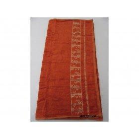 Полотенце Бамбук Arya Simon 50х90 земляное