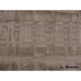 Полотенце Arya Бамбук Ephus 50х90 светло-коричневое