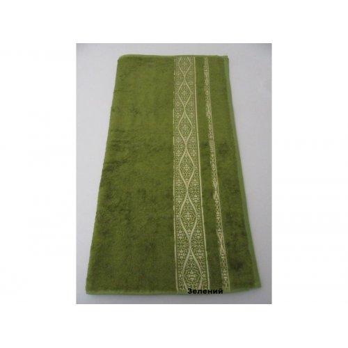 Полотенце Бамбук Arya Kayra 50х90 зеленый