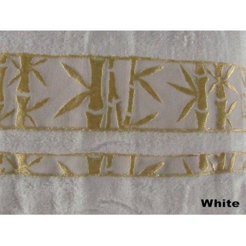 Полотенце Arya Бамбук Elanor 50х90 белое