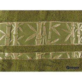Полотенце Arya Бамбук Elanor 50х90 зеленое