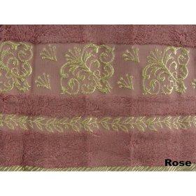 Полотенце Arya Бамбук Sarmasik 70х140 сухая роза