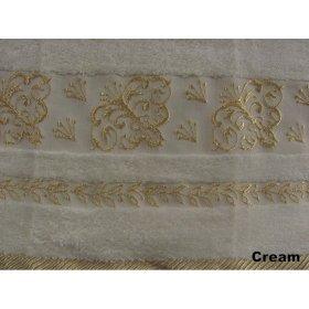 Полотенце Arya Бамбук Sarmasik 70х140 кремовое