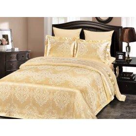 Двуспальное жаккардовое постельное белье Arya Lanza 200х220