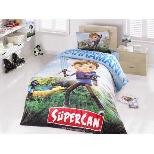 Полуторный комплект постельного белья Altinbasak Supercan 160х220