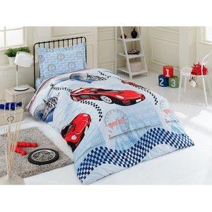 Полуторный комплект постельного белья Arya Sport Car 160х230