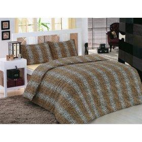 Полуторное постельное белье Classi Tamela Leopar 145х210