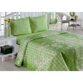 Полуторное постельное белье Classi Daisy Papatya 145х210