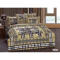 Двуспальное постельное белье Arya Fashion Amadeo печатное 200х220