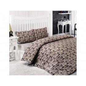 Полуторное постельное белье Classi Dilek 145х210