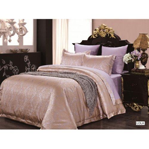 Двуспальный комплект постельного белья Arya Pure Lola 200х220