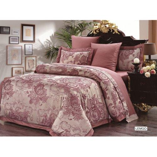 Двуспальный комплект постельного белья Arya Magestik Lemgo 200х220