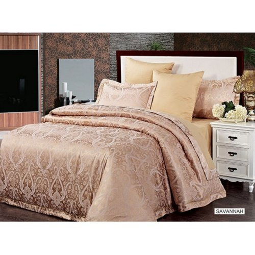 Двуспальный комплект постельного белья Arya Pure Savannah 200х220