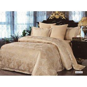 Двуспальный комплект постельного белья Arya Pure Simone 200х220